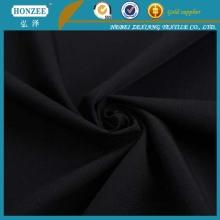 Tecido de poliéster mais barato preto
