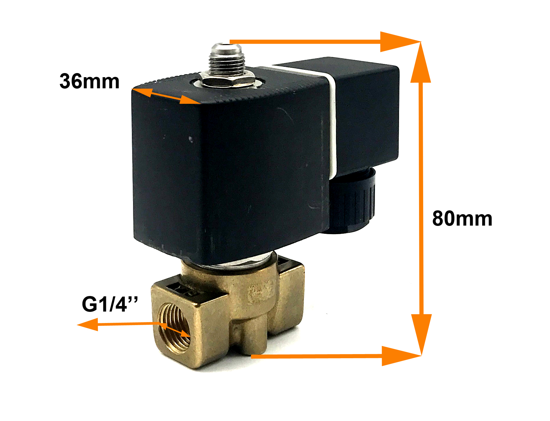 G1/4'' 3 Way M&M Type Direct Acting D363CVG Solenoid Valve