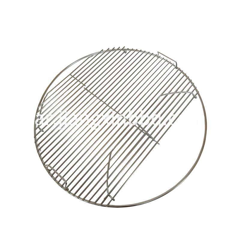 Stainless Steel Round Grid Hinged Cooking Grate Replacement