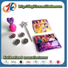 Conjunto promocional de varinha e frasco de perfume para crianças