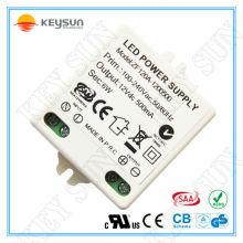 Alimentation de commutation 6W / 12W / 18W / 20W 12V conducteur de tension constante conduit