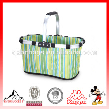 Foldable cooler basket insulated cooler bags for picnic(ES-Z303)