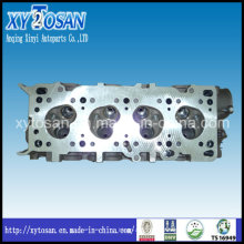 KIA Pride Cylinder Head for Gasoline, Injection & Dual Type (OEM KK150-10-100 & KK150-10-100D)