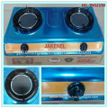 infra red stainless steel double burner gas stove,gas cooker