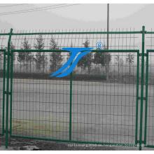Heißer Verkaufs-Doppelter Draht-Zaun / addierter Draht-Zaun