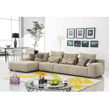 Sofá moderno de la tela del mobiliario de la sala de estar