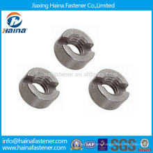 DIN546 Stainless Steel Slotted Round Nuts