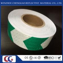 Tipo de pente de mel fita reflexiva da seta da marcação da segurança do material do PVC