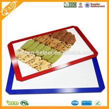BPA Free Kitchen Baking Tools Heat Resistant Food Grade Non Stick Silicone Baking Mat