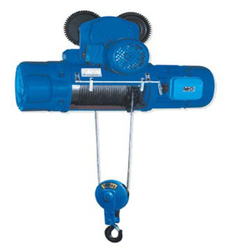 CD Hoist with Trolley Electric Wire Rope Hoist