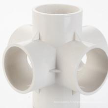 raccords de tuyauterie en plastique faisant le moule de raccord de tuyauterie en pvc