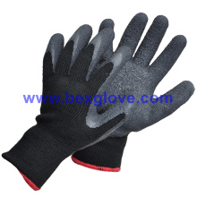 100% Polyester Liner, Latex Coated, Garden Glove