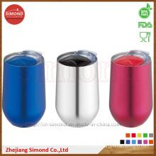 500ml Round Shape Stainless Steel Vacuum Wine Mug (SD-8022)