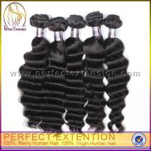 China Billig können Sie 100% unverarbeitete Virgin Indian Remy Haar bleichen