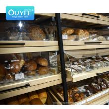 High Quality Hook Plastic Fruit Basket Use Gondola Supermarket Shopping Shelf Rack Supermarket Shelf Pusher