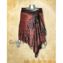 Jaquard pashmina shawl