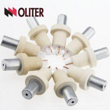 OLITER venta caliente venta rápida platino rodio desechable tipo s termoestable prestable 604 triángulo 602 ronda fabricante