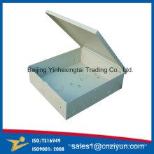 Caixas de distribuição de metal OEM com revestimento em pó por processamento de metais