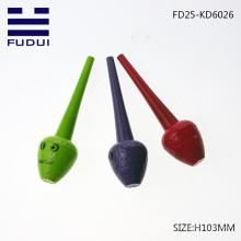 wholesale cute cosmetic strawberry shape eyeliner packaging tube