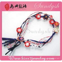 Costume Jewellery Accessories Handmade Fabric Belts For Dresses