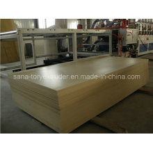 PVC WPC Plastic Building Templates Board Extrusion Line