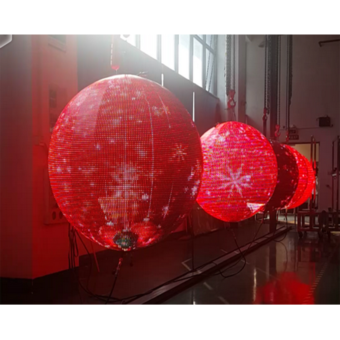 Sphere rgb led display