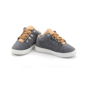 Mélange de couleurs Kids Casual Soft Shoelace Shoes