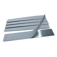 Korea Quality 95mm Flexible Steel Square Nail File Board for Refill Zebra sandpaper