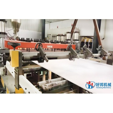 Ligne d'extrusion de machine de feuille de mousse de PVC