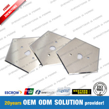 Tungsten Carbide Blade Pentagon dengan 5 Cutting Edges