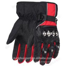 gants de vélo d'hiver en cuir, usine de gants de motocross