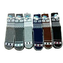 Мужчины трикотажные Anti-Slip рождественские носки завод Производитель