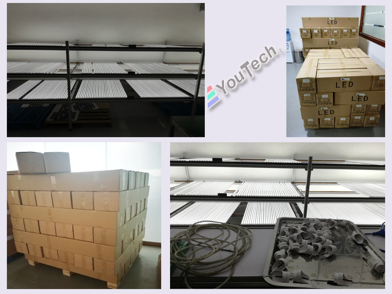 LED T8 2400mm 40W packing