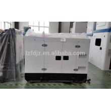 15kw petit Diesel silencieux générateur monophasé pour usage domestique