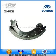 China supplier Yutong bus part 3502-00437 rear brake shoe assembly