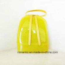 Caramelo Lady Jelly Mochila de alta calidad EVA bolsa (J-899)