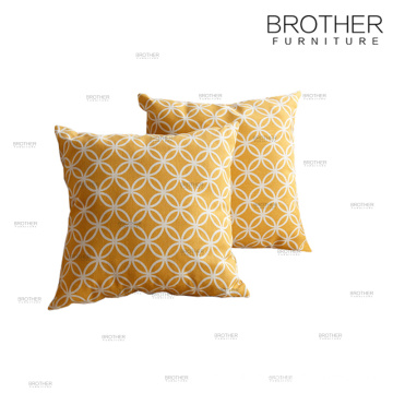 Wholesale plain decorative soft linen pillow for hotel and home