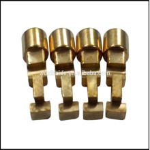 brass cnc machining spare parts / cnc copper product