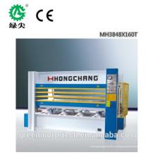 энергосберегающие двери кожей горячий пресс машина/ МДФ двери кожи/производство пиломатериалов прокатывая горячие пресс-машина