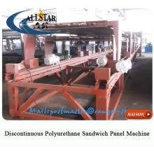 Discontinuous Pu Foam Sandwich Panel Machine eps sandwich panel machine