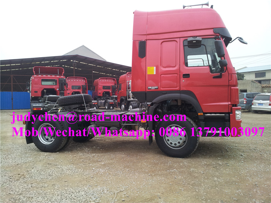Howo 4x2 290hp Tractor Truck