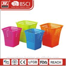Heißer Verkauf HaiXing Kunststoff Abfallbehälter mit verschiedenen Farbe