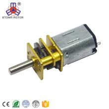 mini reductora eléctrica del motor del engranaje 4.5V 6V para el bloqueo electrónico