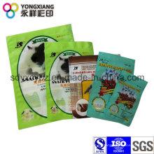 Embalaje de plástico Bolsa de alimentos para mascotas
