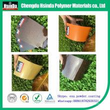 Polyester époxyde de revêtement de poudre d'effet métallique