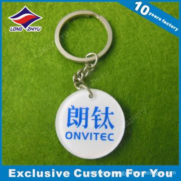 PVC изготовленный на заказ Логоса нерегулярные Брелок