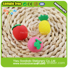 Promocionais Kids Fruit Shaped Eraser