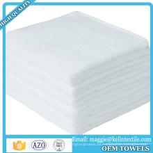 """Producto de venta caliente Ultra Soft 10 """"x 10"""" toallitas de baño de bambú para pieles sensibles"""