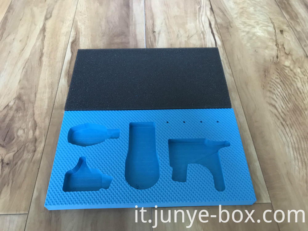 Aluminum Box with Cut-out Foam