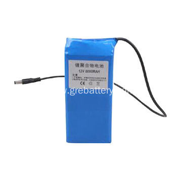 Lithium polymer rechargeable battery 11.1V 8000mAh 3S1P